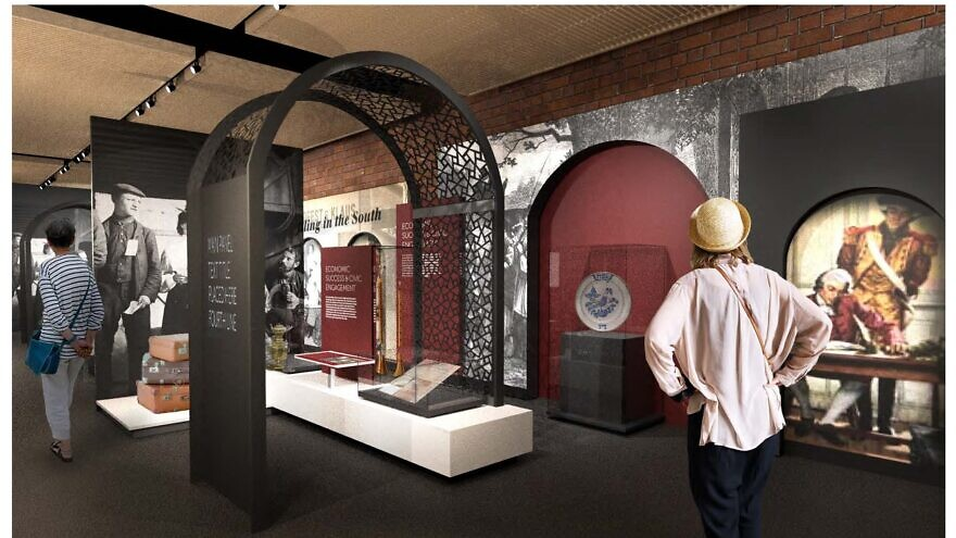 Rendering of the Museum of the Southern Jewish Experience in New Orleans, to open on the fall of 2020. Credit: The Museum of the Southern Jewish Experience.
