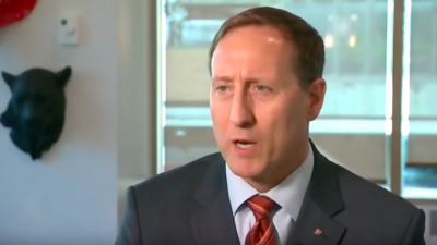 Canadian politician Peter MacKay, who is running for the leadership race in the Conservative Party. Source: Screenshot.