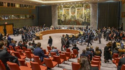 A view of the U.N. Security Council in 2018. Source: Wikimedia Commons.