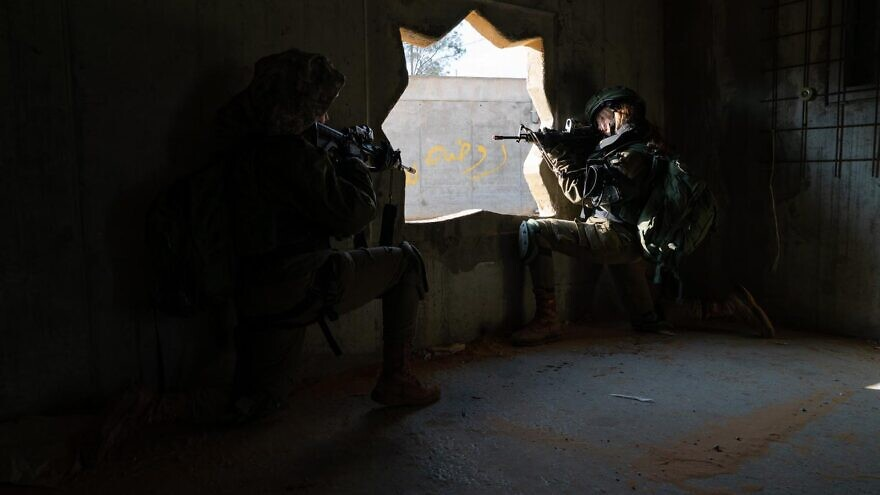 The Israel Defense Forces' mixed-gender Caracal light infantry battalion prepares for threats from the Sinai. Through a range of combat drills designed to stop any surprise attack in its tracks and ongoing border-security missions, the battalion works around the clock to ensure that it's ready to prevent a killing spree in an Israeli border village, as well as neutralize potential attackers. Credit: IDF Spokesperson's Unit.