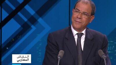 French-Moroccan professor Youssef Chiheb. (MEMRI)