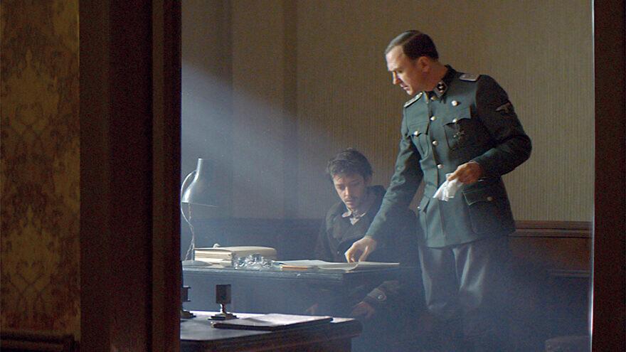 "A view of a scene in the Holocaust-era drama ""Persian Lessons."" Credit: Berlin Film Festival."
