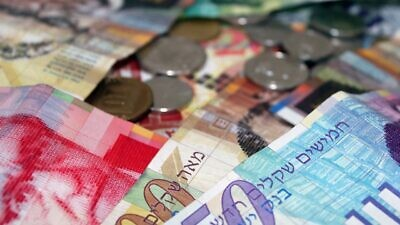 An illustrative view of Israel's currency. Ogen works as a nonprofit loan fund that provides affordable credit to disadvantaged segments of the Israeli public, aiming to increase upward economic mobility for low- and middle-income families, as well as small-business owners. Source: RJA1988/pixabay.com