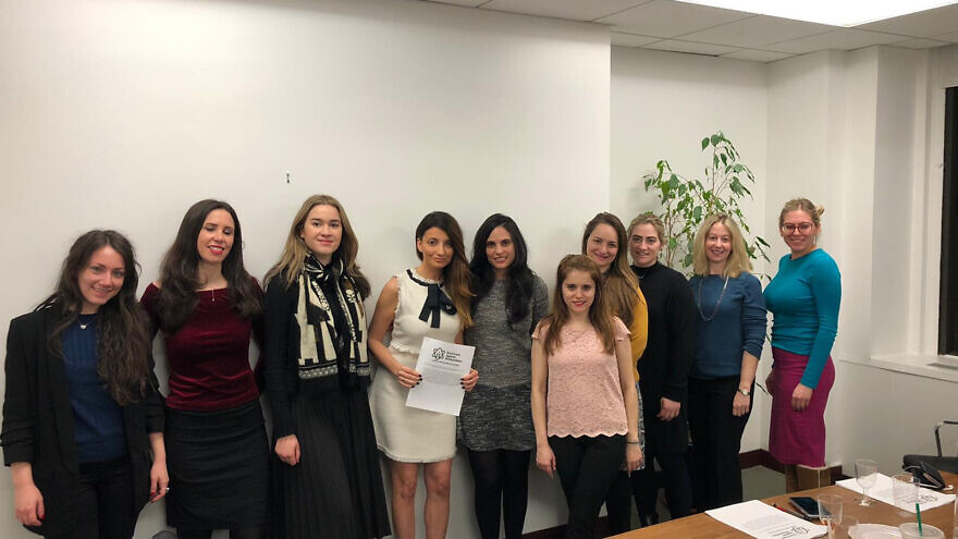 The Women's Committee for Americans Against Antisemitism. Credit: Americans Against Antisemitism.