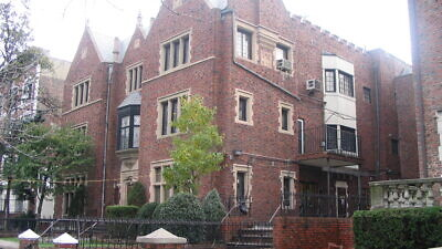 The headquarters of the worldwide Chabad-Lubavitch movement in the Crown Heights neighborhood of Brooklyn, N.Y. Credit: Wikimedia Commons.