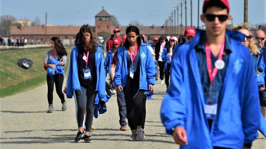 March of the Living participants. Photo by Yossi Zeliger.