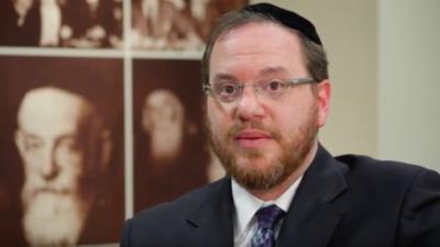 Rabbi Yehiel Kalish. Source: Screenshot.