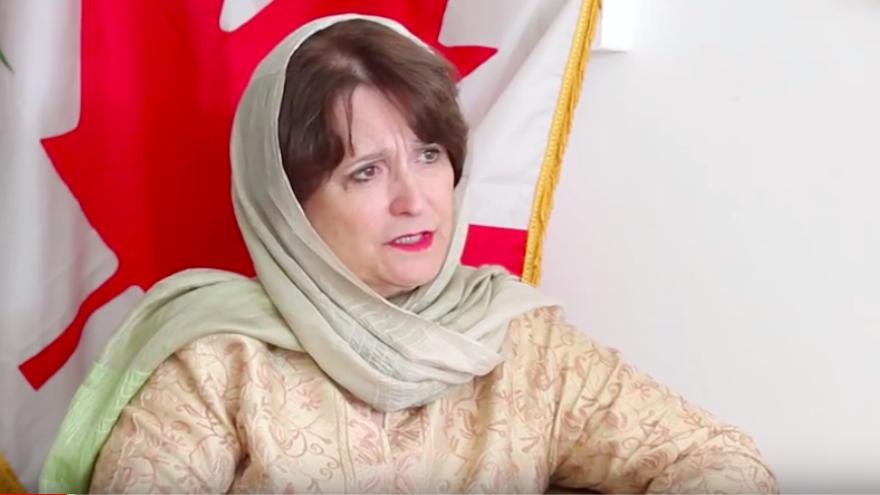 Canadian Ambassador to Israel Deborah Lyons. Source: Screenshot.