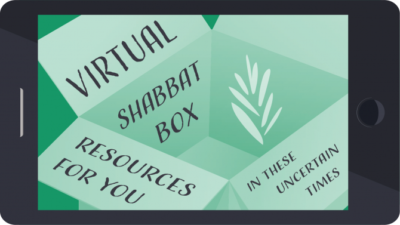 Virtual Shabbat Box provided by Reconstructing Judaism. Credit: Courtesy.