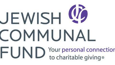 Jewish Communal Fund's logo Credit: PRNewsFoto/Jewish Communal Fund.