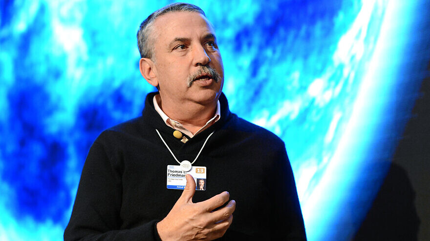 Thomas Friedman at the World Economic Forum in 2013. Credit: Wikimedia Commons.