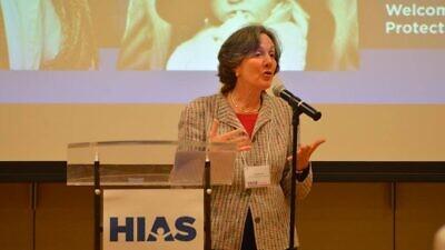 Dianne Lob at a HIAS event in 2016. Credit: HIAS via Facebook.