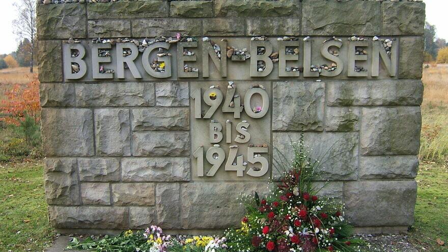 A view of the monument outside of the Bergen Belsen concentration camp. Credit: WordRidden via Flickr.