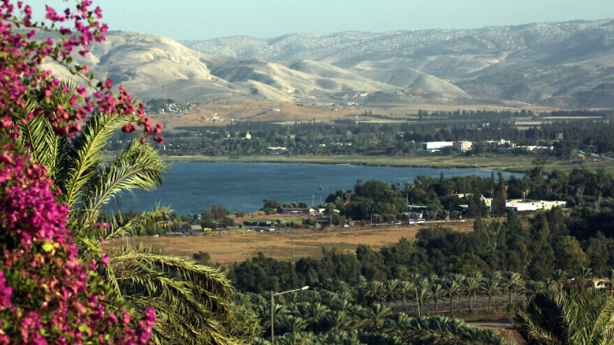 A view on the Sea of Galilee, known in Hebrew as the Kinneret, on Nov. 8, 2010. Photo by Yossi Zamir/Flash90.