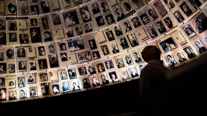 Visitors tour the Yad Vashem Holocaust Memorial museum in Jerusalem on International Holocaust Day, Jan. 26, 2017. Photo by Hadas Parush/Flash90.