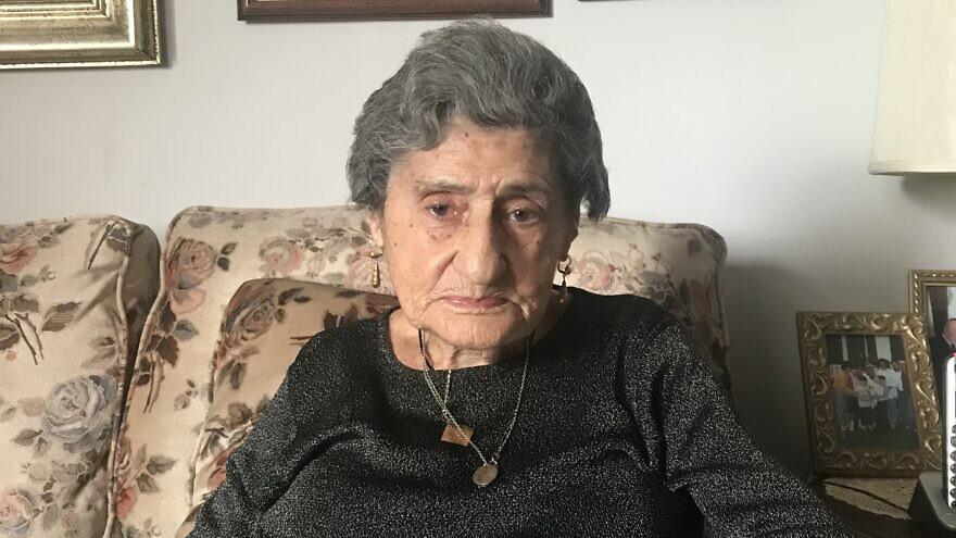 Holocaust survivor Mira Rosenblatt, 96.