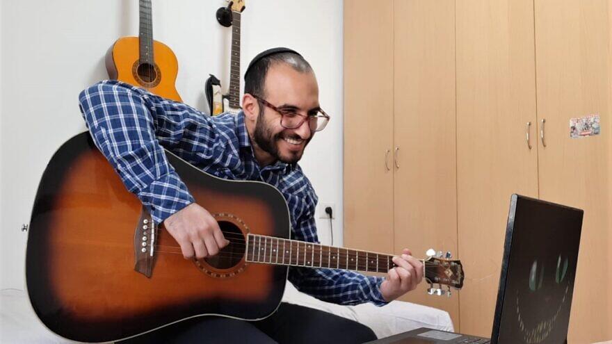 Nitzan Roitman performed for two shows for Shalva and Zichron Menachem. Credit: Courtesy of Nitzan Roitman.