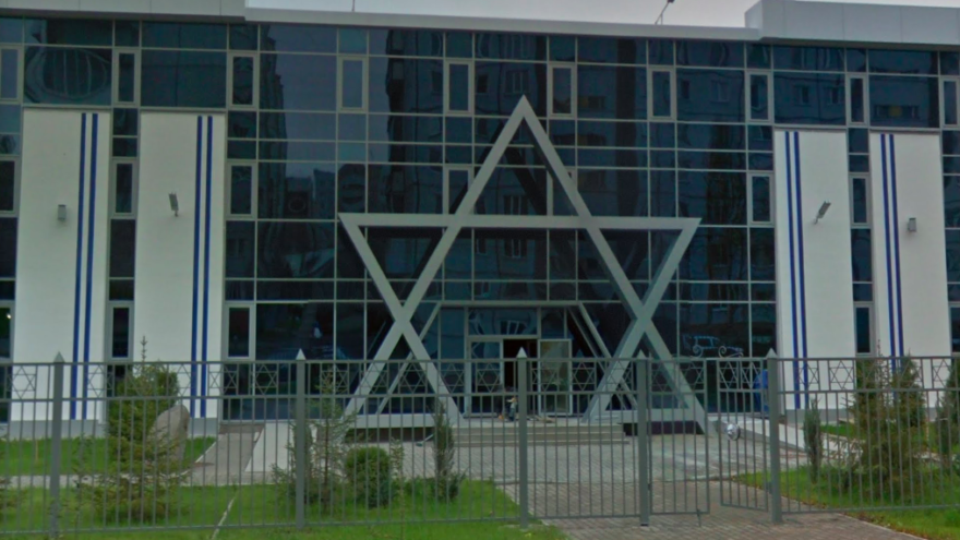 The Northern Star Jewish community center and synagogue in Arkhangelsk, Russia. Source: Screenshot via Google Maps.