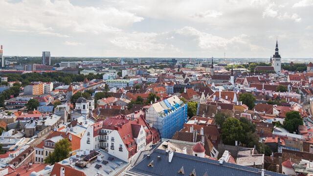A view of Tallinn, the capital of Estonia. Credit: Wikimedia Commons.