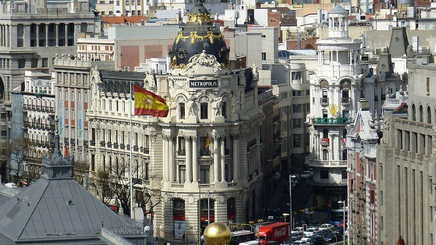 A view of Madrid, Spain. Credit: Falco via Pixabay.
