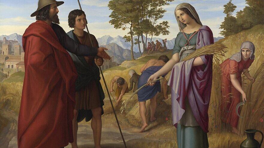 The biblical Ruth in Boaz's Field by Julius Schnorr von Carolsfeld. Credit: Wikimedia Commons.