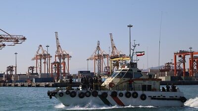 Iran's Shahid Rajaee port on Jan. 28, 2020. Credit: Wikimedia Commons.