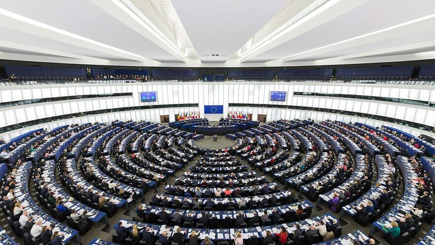 The European Parliament. Credit: Wikimedia Commons.