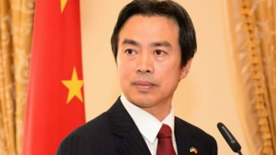 Chinese Ambassador to Israel Du Wei. Source: Chinese Foreign Ministry.