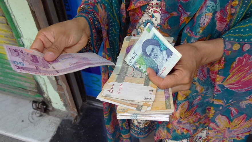 Iran's currency, the rial: The regime's lawmakers approved a measure to switch from it to the toman in a bid to curb inflation. Credit: Adam Jones via Flickr.