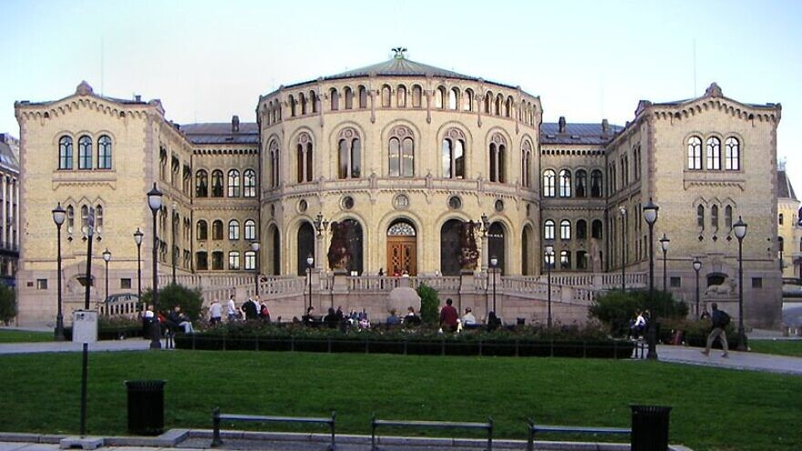 The Norwegian Parliament in Oslo, Aug. 26, 2005. Photo: John Erling Blad via Wikimedia Commons.