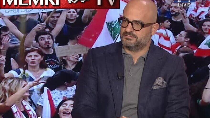 Lebanese journalist Nadim Koteich. (MEMRI)