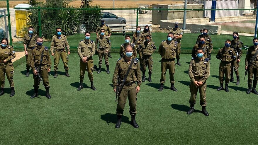 Israeli soldiers from the Arrow Air Defense Battery. Credit: IDF Spokesperson's Unit.