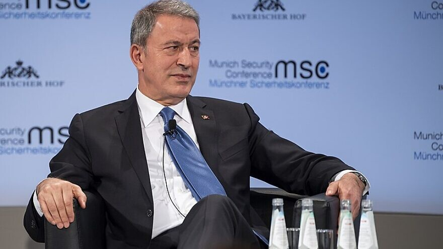 Turkish Defense Minister Hulusi Akar at the 2019 Munich Security Conference in Munich, Germany, on Feb. 17, 2019. Photo: Wikimedia Commons.