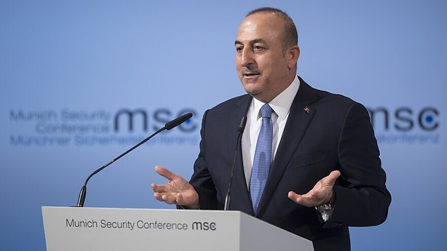 Turkish Foreign Minister Mevlut Cavusoglu attends the Munich Security Conference, on Feb. 19, 2017. Photo: Preiss/MSC via Wikimedia Commons.