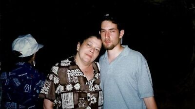 Alan Zeitlin and his mother, Susan. Credit: Courtesy.