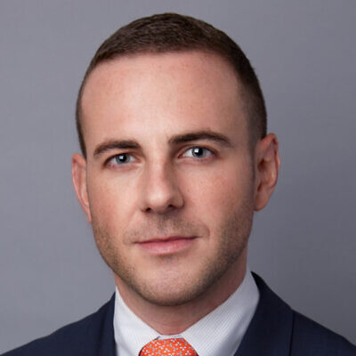 Benjamin Ryberg, the Chief Operating Officer and Director of Research at The Lawfare Project. Credit: The Lawfare Project.