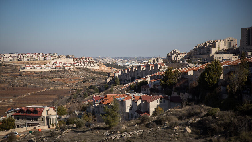 View of Efrat, in Gush Etzion, Judea and Samaria, on January 6, 2020. Photo by Hadas Parush/Flash90