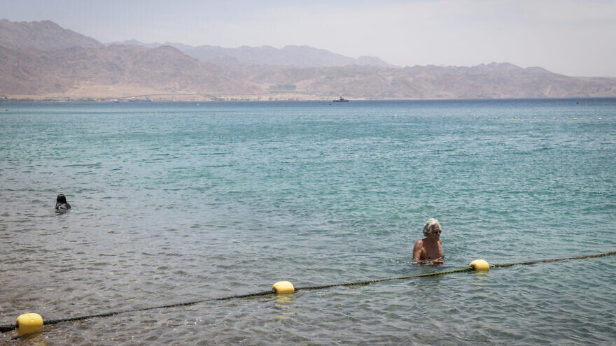 The Red Sea in the southern Israeli city of Eilat, on May 13, 2020. Photo by Yossi Zeliger/Flash90.