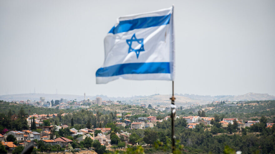 The Jewish town of Karnei Shomron in Judea and Samaria, on June 4, 2020. Photo by Sraya Diamant/Flash90.