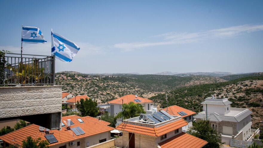 The Jewish town of Karnei Shomron in Judea and Samaria, June 4, 2020. Photo by Sraya Diamant/Flash90.