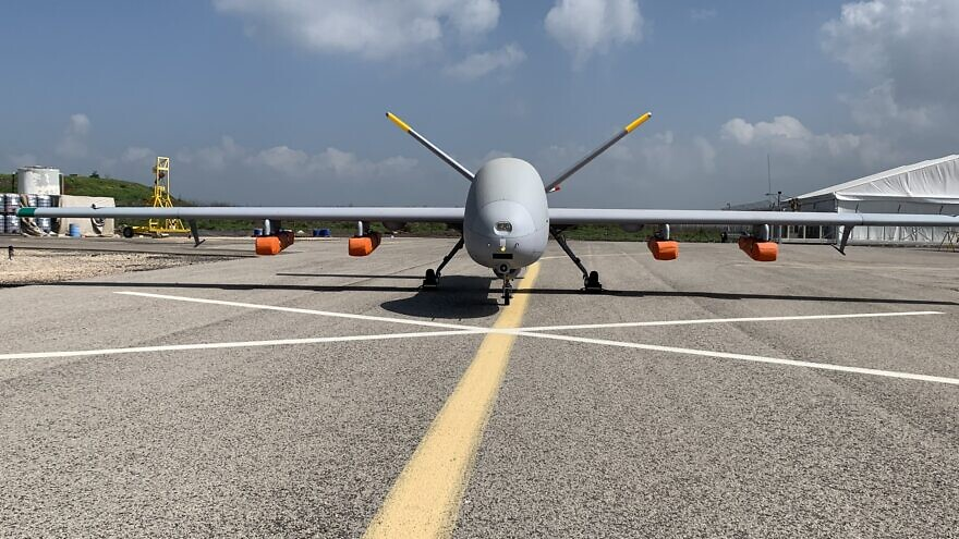 Israeli defense company Elbit Systems' Hermes 900 Unmanned Aircraft System. Credit: Elbit Systems