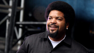 Rapper and film actor Ice Cube. Credit: Wikimedia Commons.