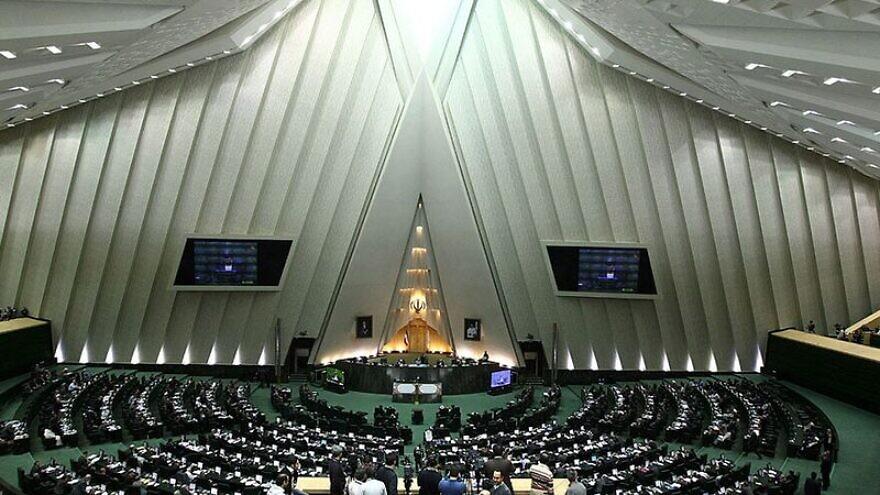 The Iranian Majlis, Jan. 16, 2013. Credit: Mahdi Sigari via Wikimedia Commons.