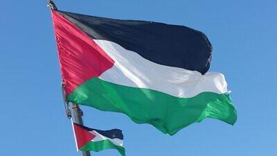 The Palestinian flag. Credit: Makbula Nassar via Wikimedia Commons.