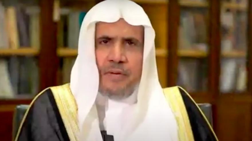Muslim World League Sheikh Mohammed Al-Issa. Source: Screenshot.