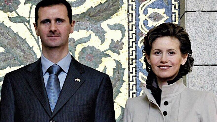 Syrian President Bashar Assad and his wife, Asma. Credit: Ricardo Stuckert (Agência Brasil) via Wikimedia Commons.