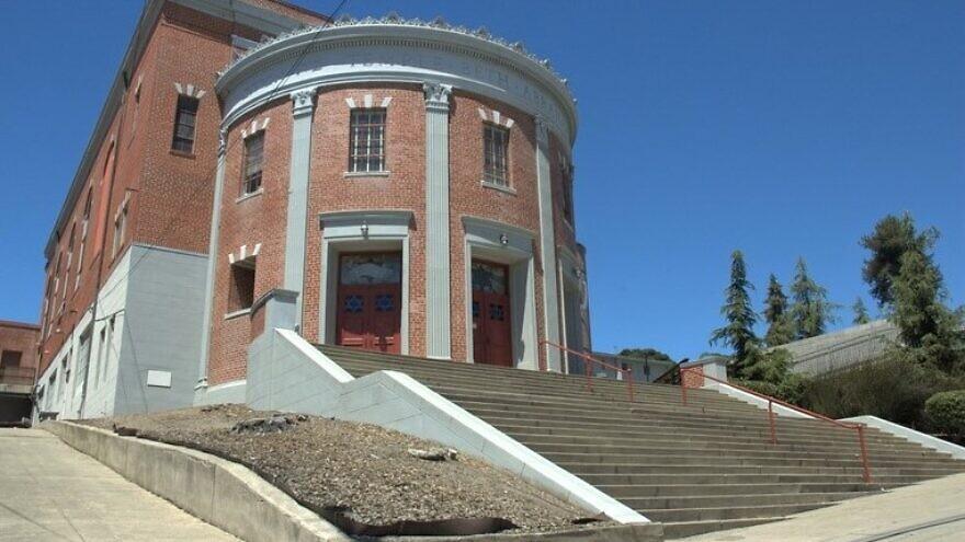 Temple Beth Abraham. Credit: Oakland Wiki via Local Wiki.