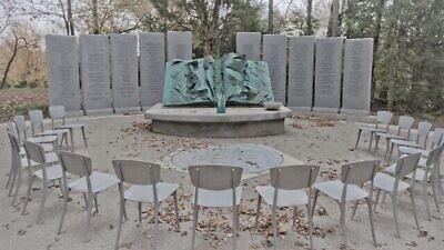 The Nashville Holocaust Memorial located on the grounds of the Gordon JCC. Credit: nashvilleholocaustmemorial.org.