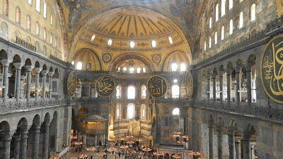 The Hagia Sophia museum (and former church) in Istanbul. Credit: Wikimedia Commons.