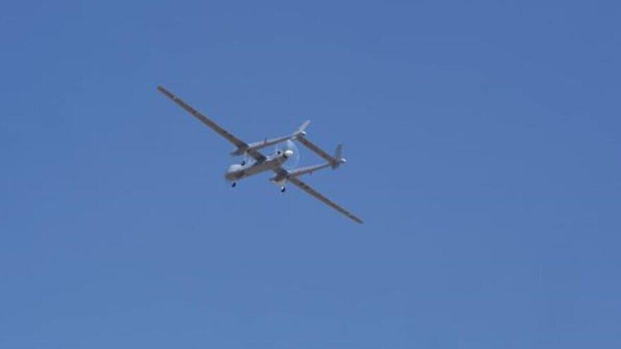 The German Heron TP UAV. Source: Israeli Ministry of Defense/Facebook.